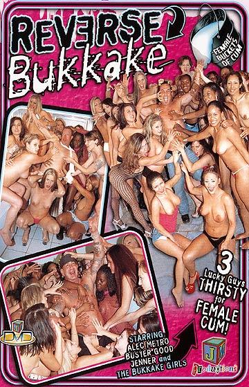 Reverse bukkake 9 starring